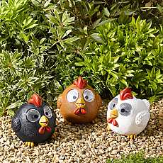 Bright Eye Happy Hens, 3 pack by Smart Solar