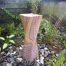 Rainbow Sandstone Twisted Column Water Feature