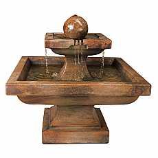 Henri Studio Low Equinox Fountain Relic Lava
