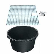 Reinforced heavy duty pebble pool 1400mm diameter