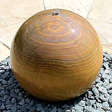 Rainbow Sandstone Sphere 50cm Diameter Water Feature