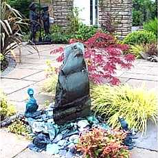 Slate Monolith Water Feature 50cm - 70cm high