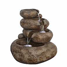 4 Level Sandstone Boulder Water Feature by Aqua Creations