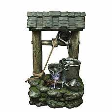 3 Bucket Wishing Well Water Feature by Aqua Creations