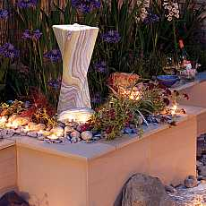 Rainbow Sandstone Malone Water Feature By Aqua Moda