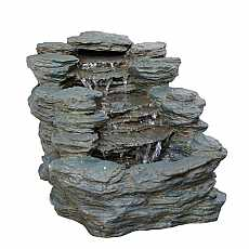 2 Fall Slate Water Feature by Aqua Creations