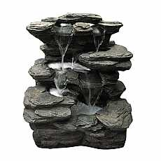 Slate Multi Fall Water Feature by Aqua Creations