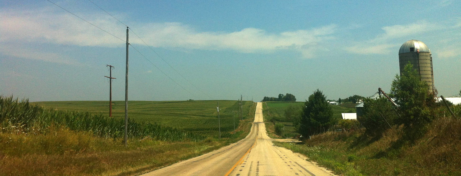 County Road, Outside of Dubuque