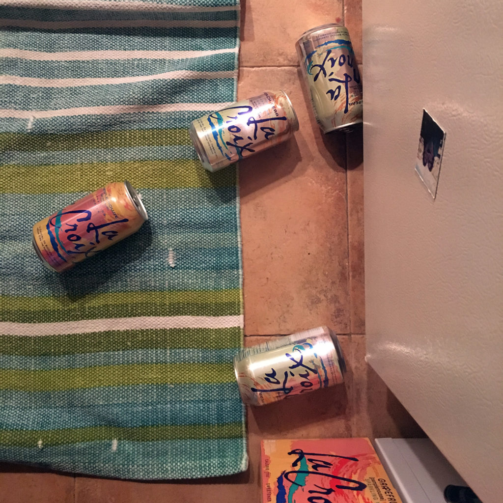 Cans of La Croix