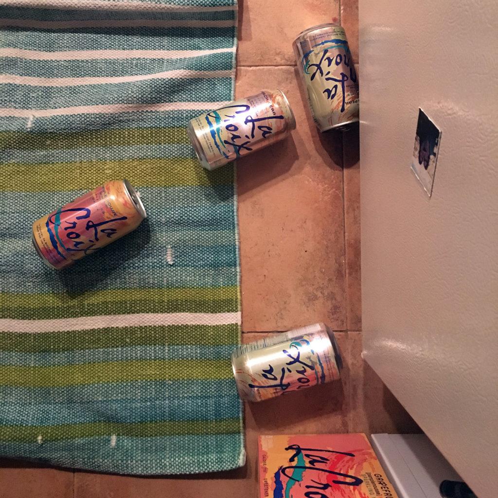 Cans of La Croix