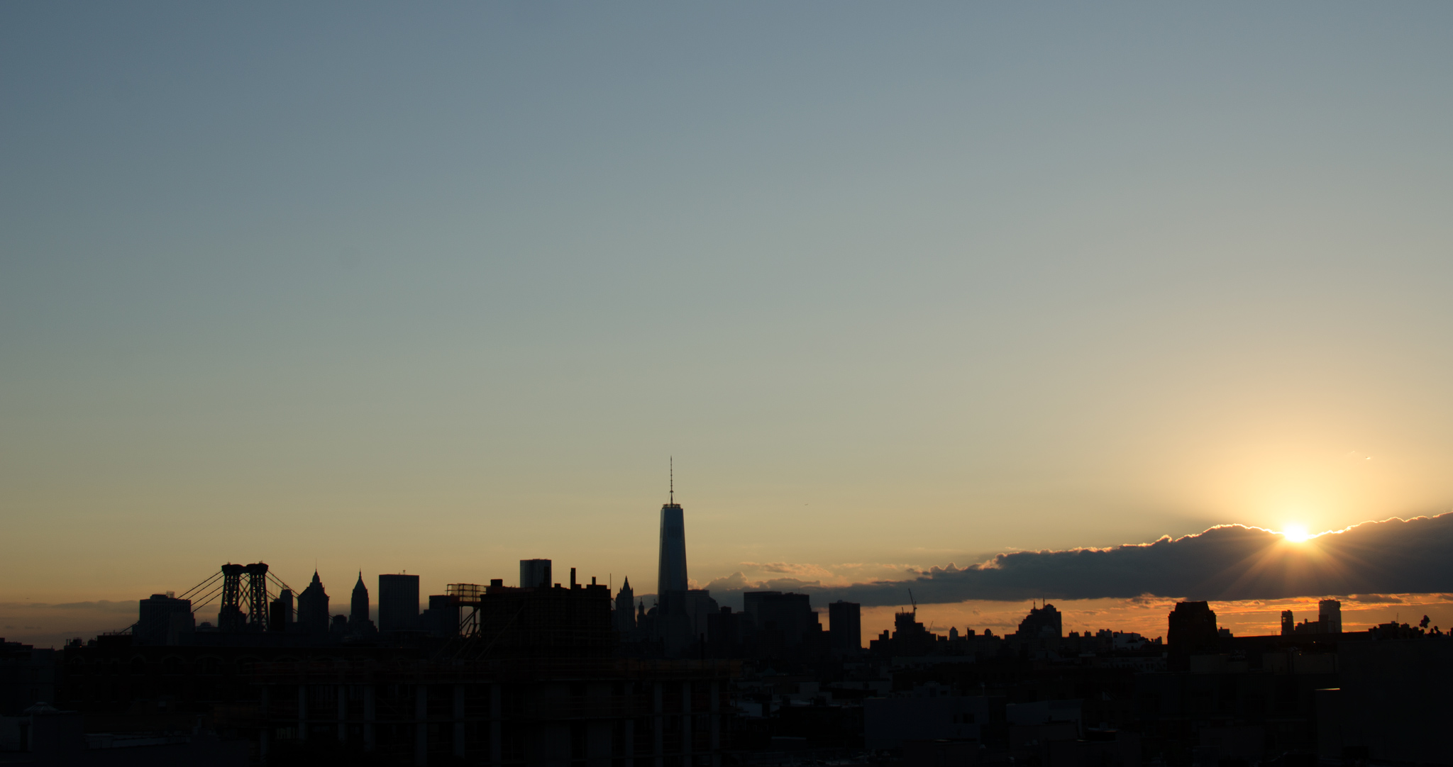 Lower Manhattan, Aug. 24, 2014