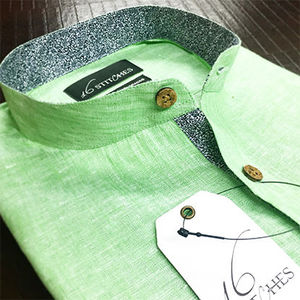 Green_linen_banded_collar_shirt_opt