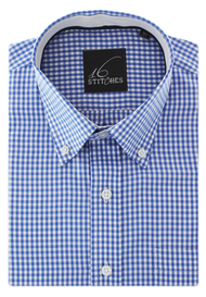 Gingham Checks in Pinpoint Oxford