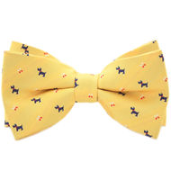 Yellow Barking Dog Bowtie