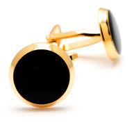 The Black Gold Cufflinks