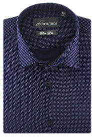 Retro Polka Shirt