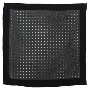 Charcoal Polka Wool