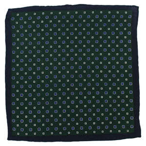 Floral Green Wool