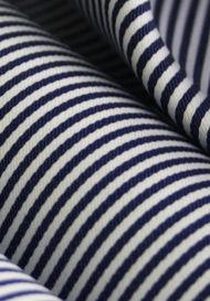 Pencil Stripes in Satin Dobby Weave