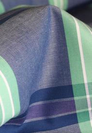 Blue / Green / White Large Checks