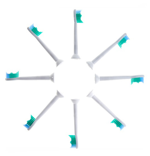 8-Pack Replacement Toothbrush Heads