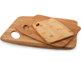 3-Pack Cutting Board Combo