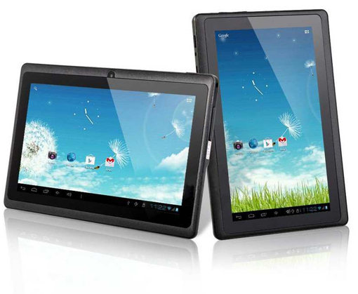 7-inch LCD Touch Screen Tablet