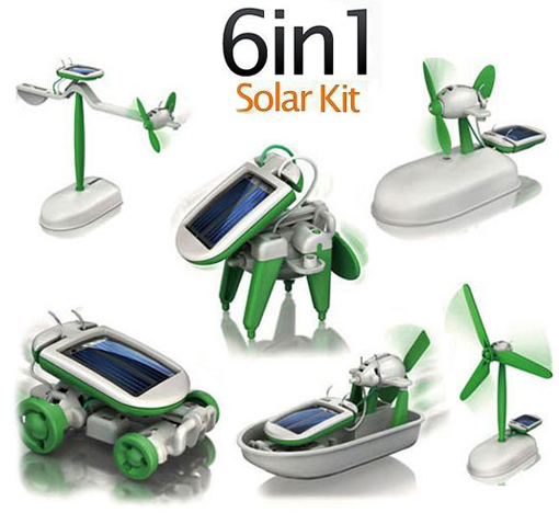 6-in-1 Educational Robotic Kit