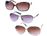 3-Pack Ladies Sunglasses