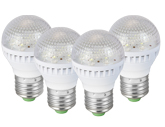 4 Pack 7 LED Light Bulbs
