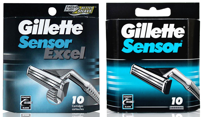 20-Pack Gillette Replacement Cartridges