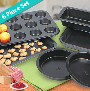 Thinktank KC43009 6-Pc. Bake Set