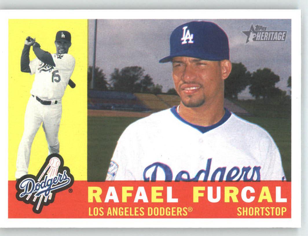 Rafael Furcal Los Angeles Dodgers 2009 Topps Heritage