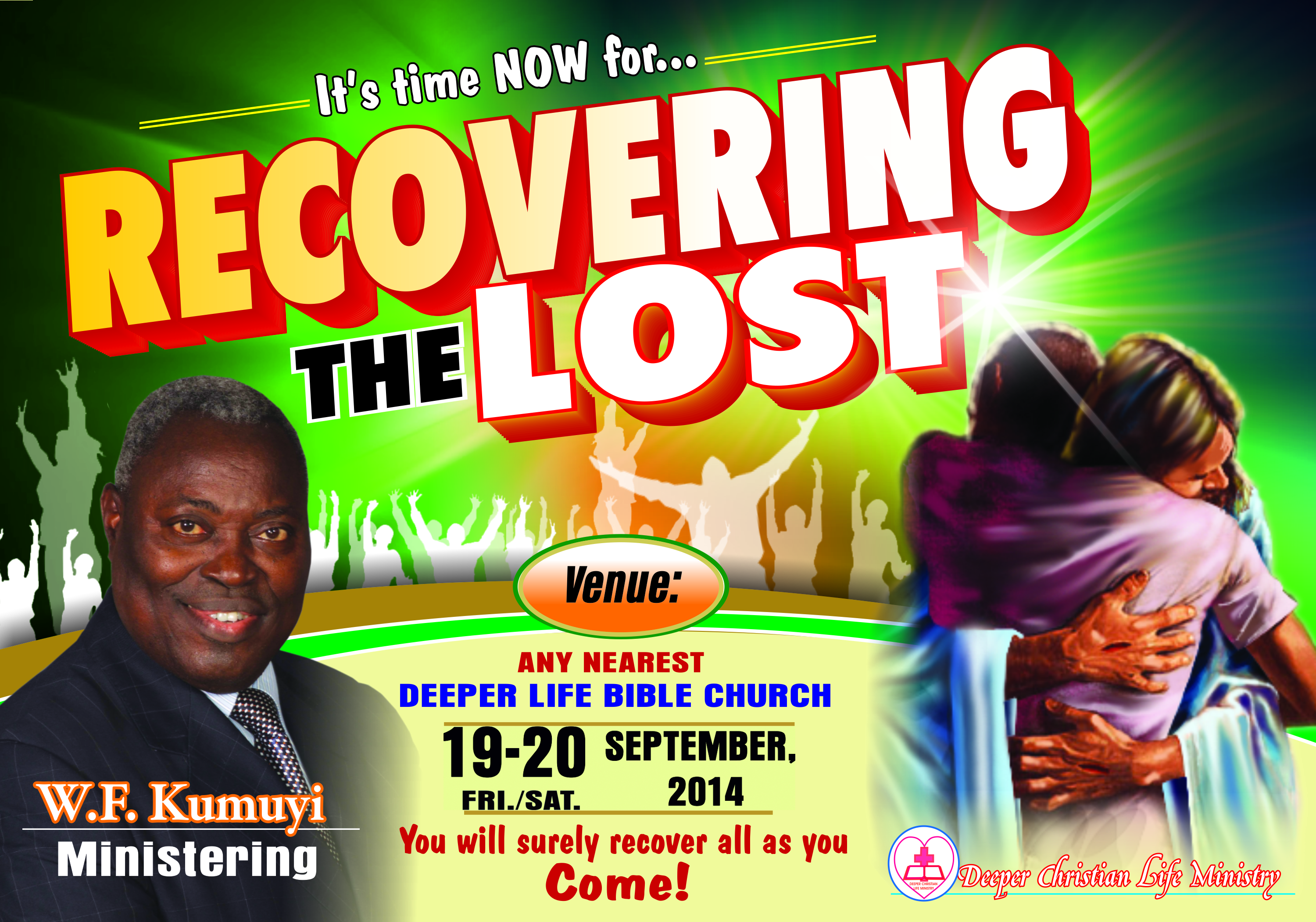 Recovering the Lost - Deeper Christian Life Ministry