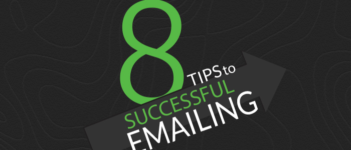 8 email tips to successful emailing