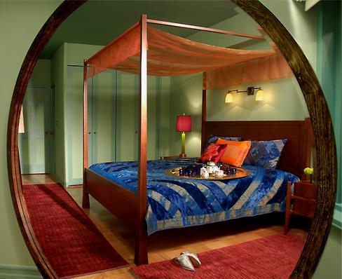 Contemporary Cultural Bedroom