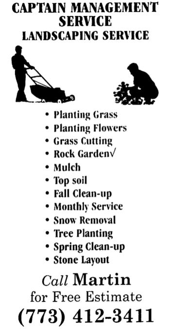 yard work flyers sample
