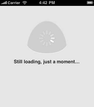 Slow loading state