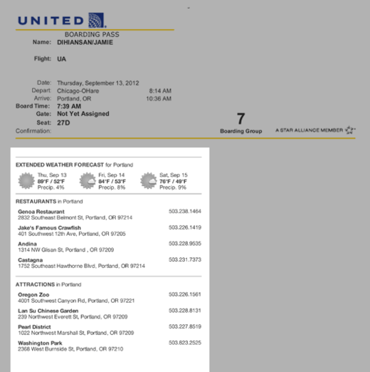 PHOTO: Great detail United Airlines