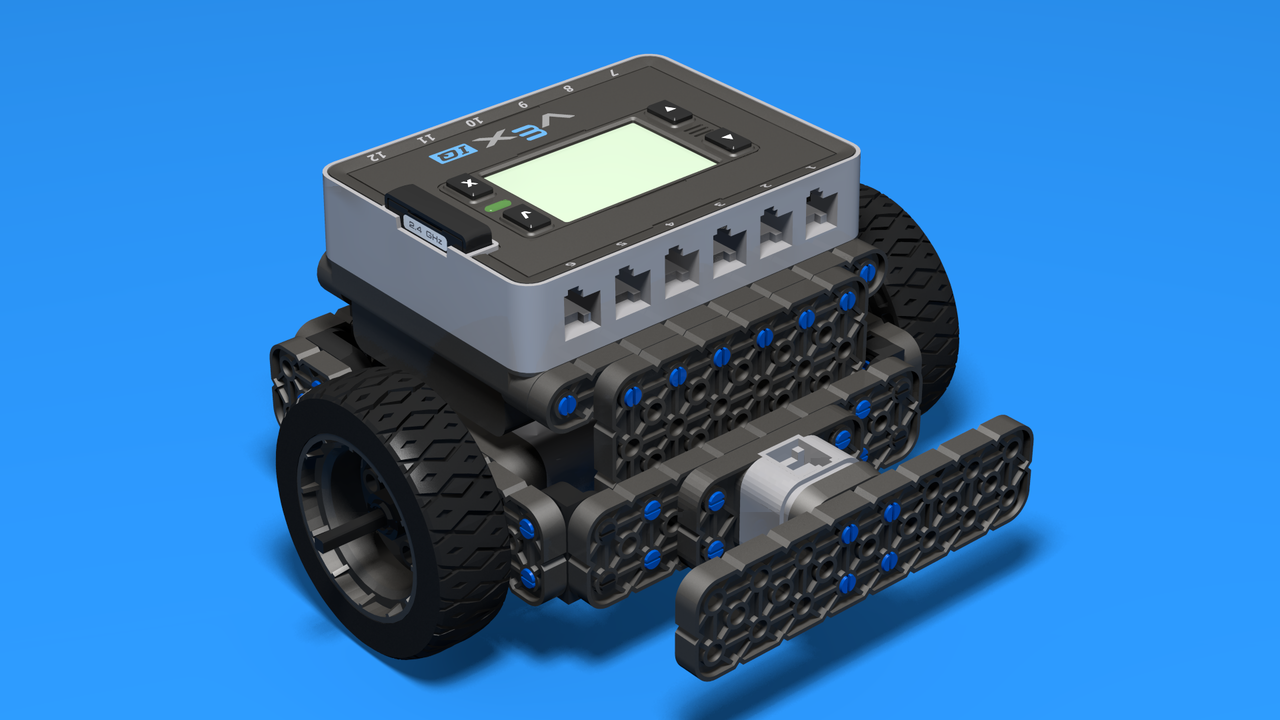 Image for VEX IQ Robot as 3D Assembly Instructions