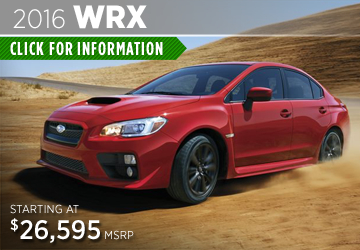 Click to View the 2016 Subaru WRX Details & Specifications