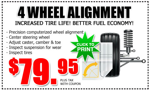 Auto Repair Near Me U003eu003e Toyota 4 Wheel Alignment Service Special | San Diego  County
