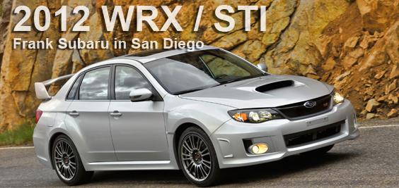2012 subaru wrx sti model details san diego ca new for National motors san diego