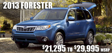 2013 Subaru Forester at Garcia Subaru, Albuquerque, Rio Rancho, South Valley, North Valley, New Mexico