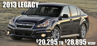 2013 Subaru Legacy at Carter Subaru Ballard, Seattle, Belleview, Renton, Kirkland, Redmond, Puyallup, Washington