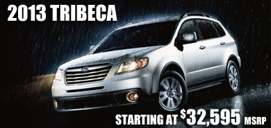 2013 Subaru Tribeca model details & information serving Reno, South, Lake, Tahoe, Sparks, Fallon, Fernley, Carson City
