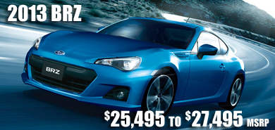 2013 Subaru BRZ for sale at Subaru Pacific, Hermosa Beach, Los Angeles, Torrance, Long Beach, Santa Monica, California