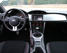 2013 Subaru BRZ Cockpit View