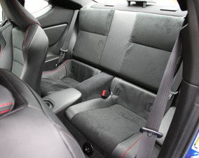 2013 Subaru BRZ Rear Passenger Seating