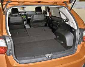 2013 Subaru XV Cargo Area, San Francisco, CA